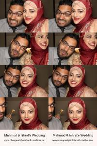 couple at a photo booth