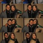 posing for photo booth
