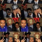 fun props with photo booth hire