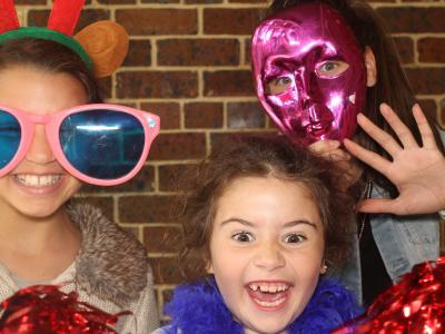 Outdoor Kids Photo Booth Hire for School Graduation