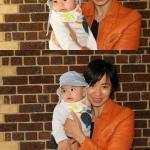 youngest photo booth poser