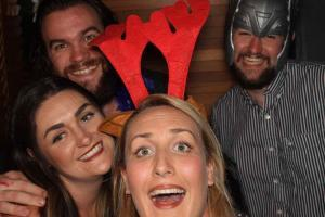Staff Christmas Photo Booth Melbourne